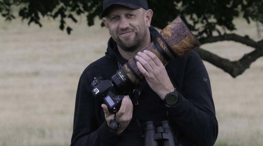Mike with his Nikon D5